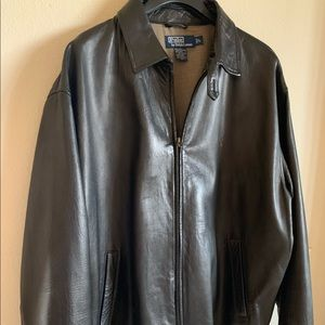 Other - Polo leather jacket